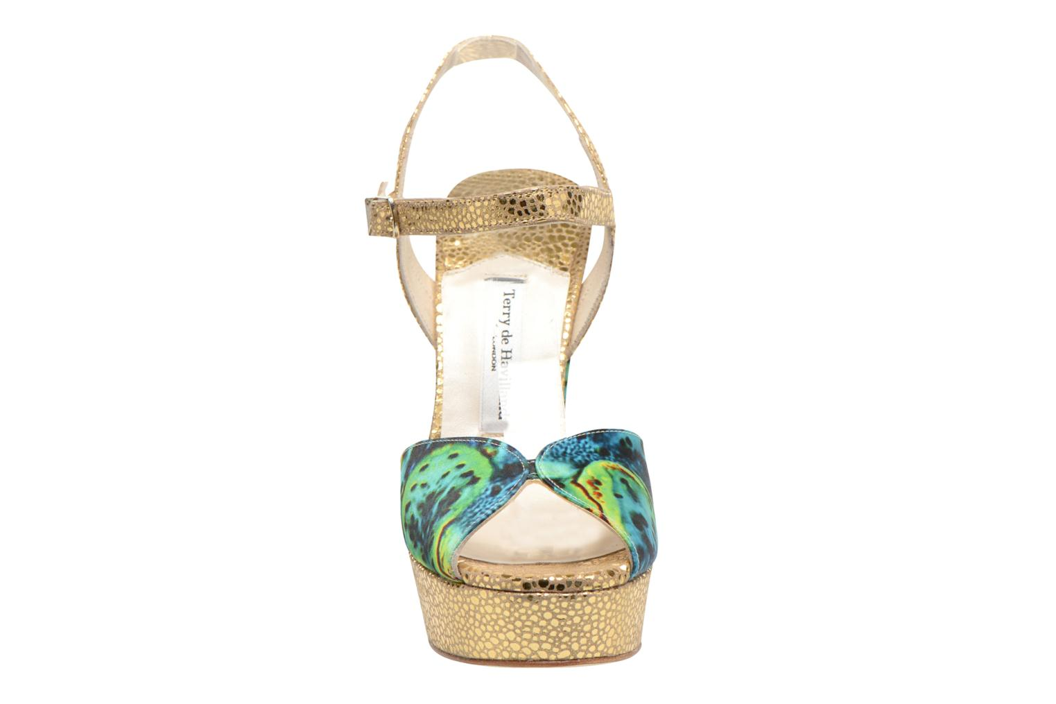 Sandals Terry de Havilland Coco Green model view