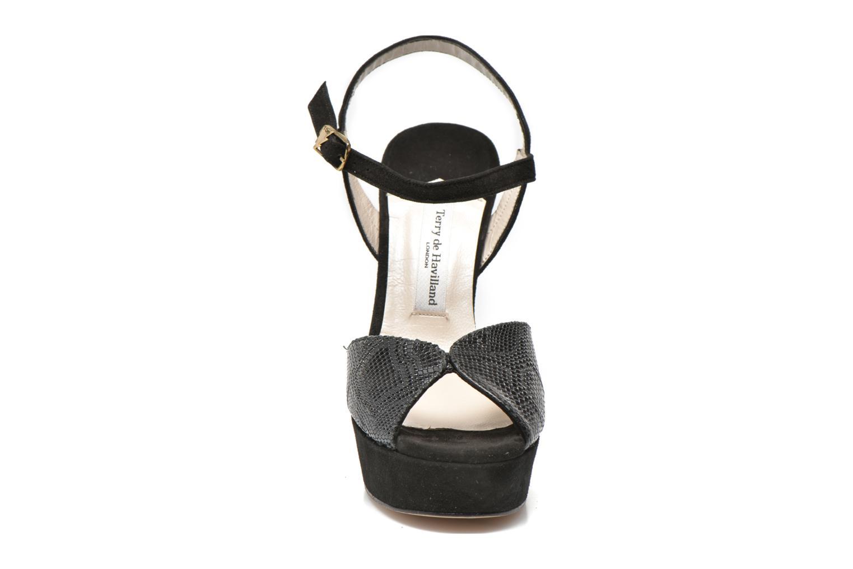 Sandalen Terry de Havilland Coco mehrfarbig schuhe getragen