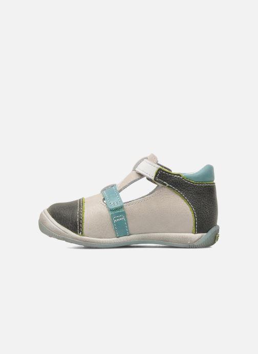 Sandals GBB GEO Grey front view
