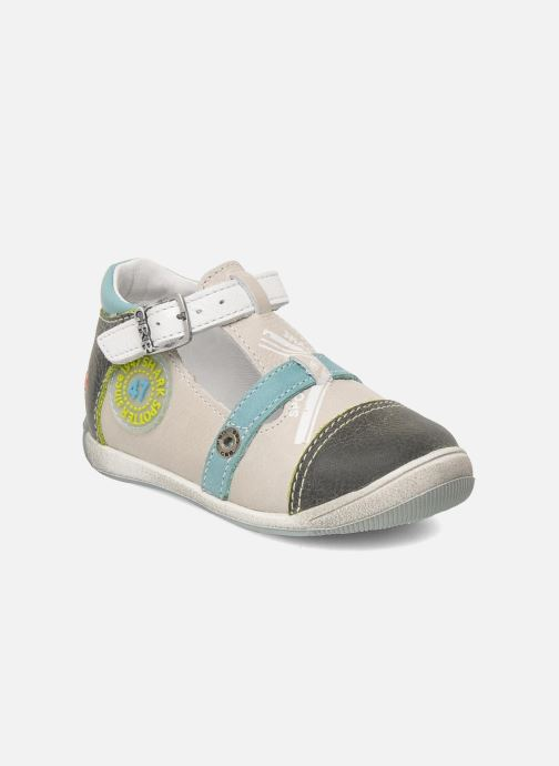Sandals GBB GEO Grey detailed view/ Pair view