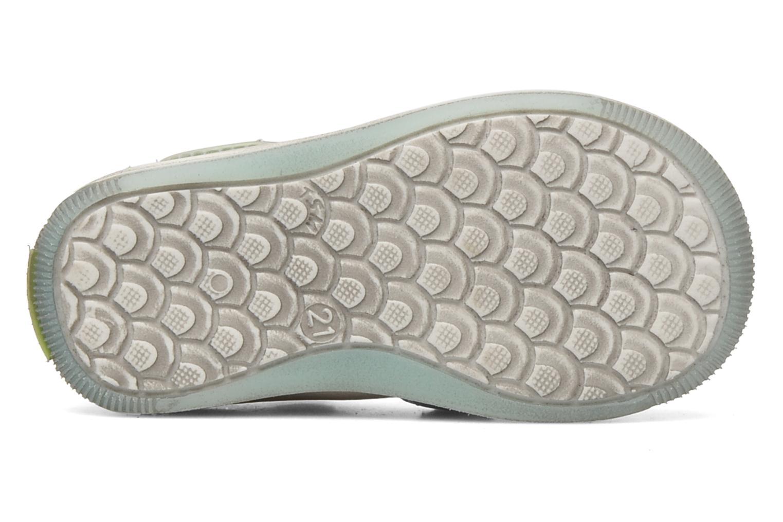 Sandales et nu-pieds GBB GEO Gris vue haut