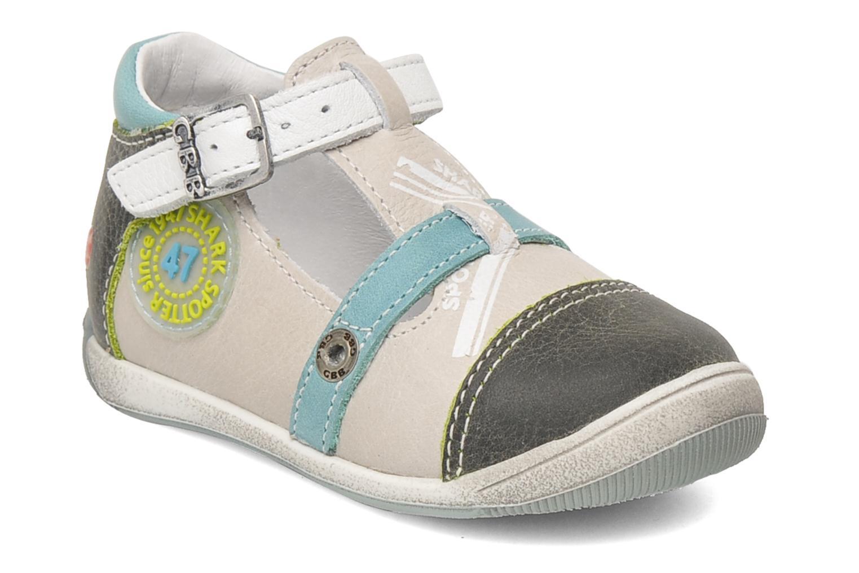 Sandales et nu-pieds GBB GEO Gris vue détail/paire