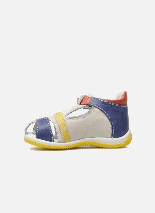 Sandales et nu-pieds GBB GEORGIO Gris vue face