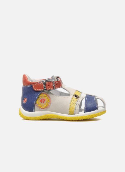 Sandales et nu-pieds GBB GEORGIO Gris vue derrière