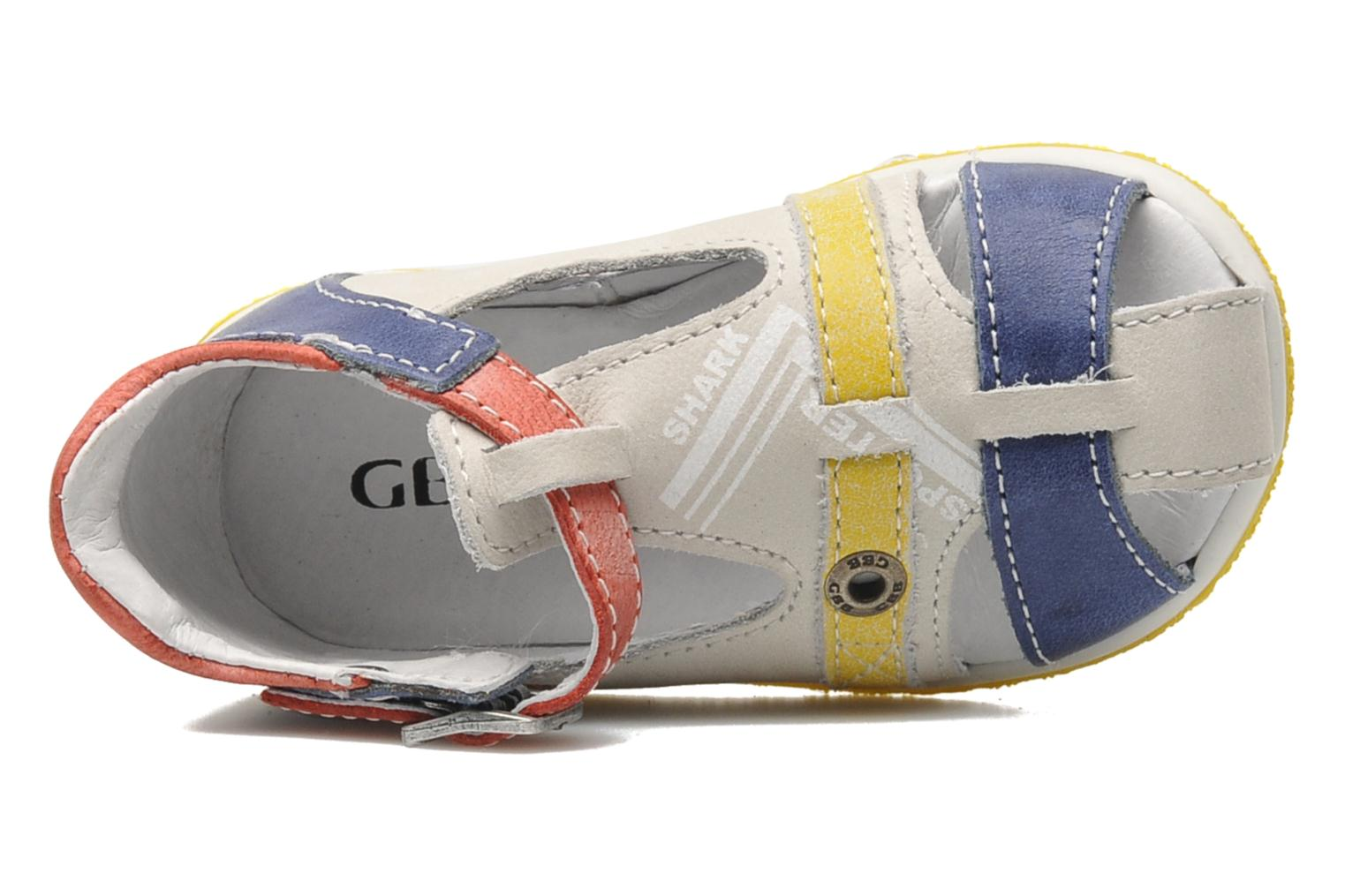 Sandals GBB GEORGIO Grey view from the left
