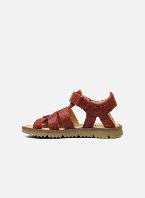 Sandales et nu-pieds GBB GREG Rouge vue face