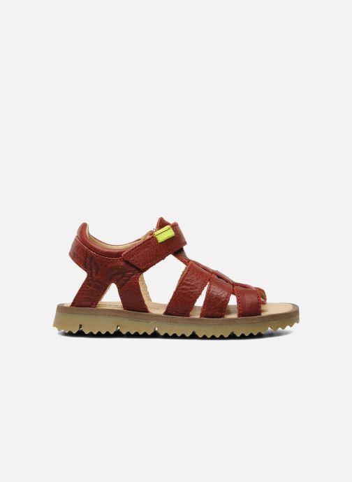 Sandales et nu-pieds GBB GREG Rouge vue derrière