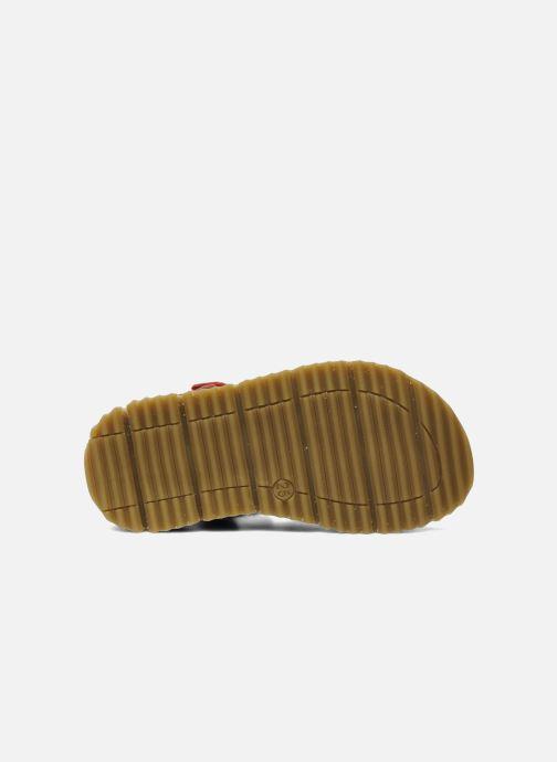 Sandales et nu-pieds GBB GREG Rouge vue haut