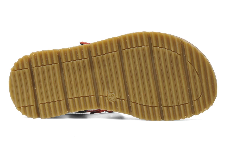 Sandales et nu-pieds GBB GREG Bleu vue haut