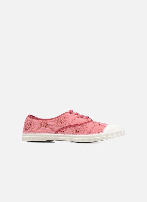Sneakers Bensimon Tennis Broderie Anglaise Rosa immagine posteriore