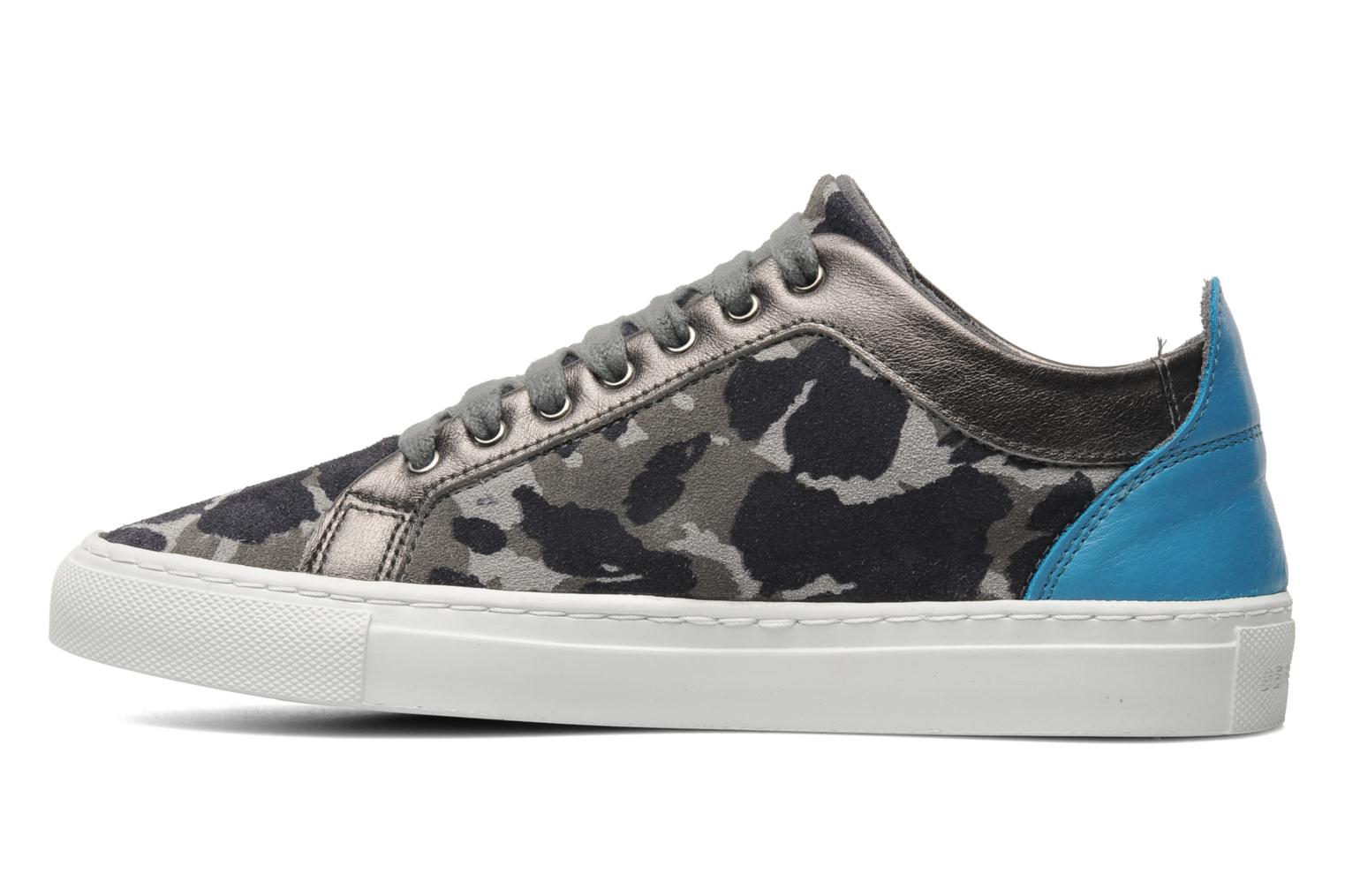 Trainers Bensimon Flexys Camocolor Multicolor front view