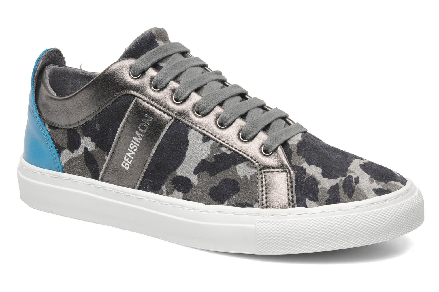 Trainers Bensimon Flexys Camocolor Multicolor detailed view/ Pair view