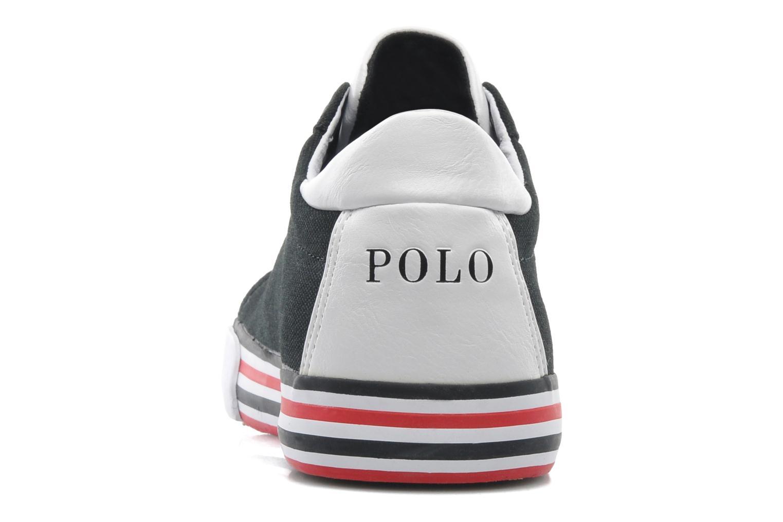 Baskets Polo Ralph Lauren Harvey Noir vue droite