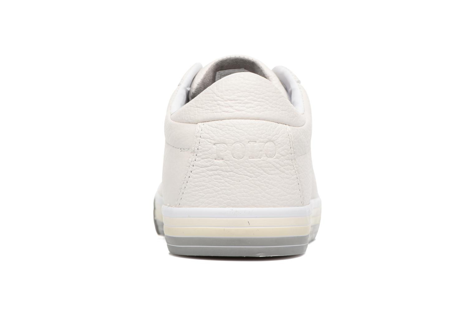 Baskets Polo Ralph Lauren Harvey Blanc vue droite