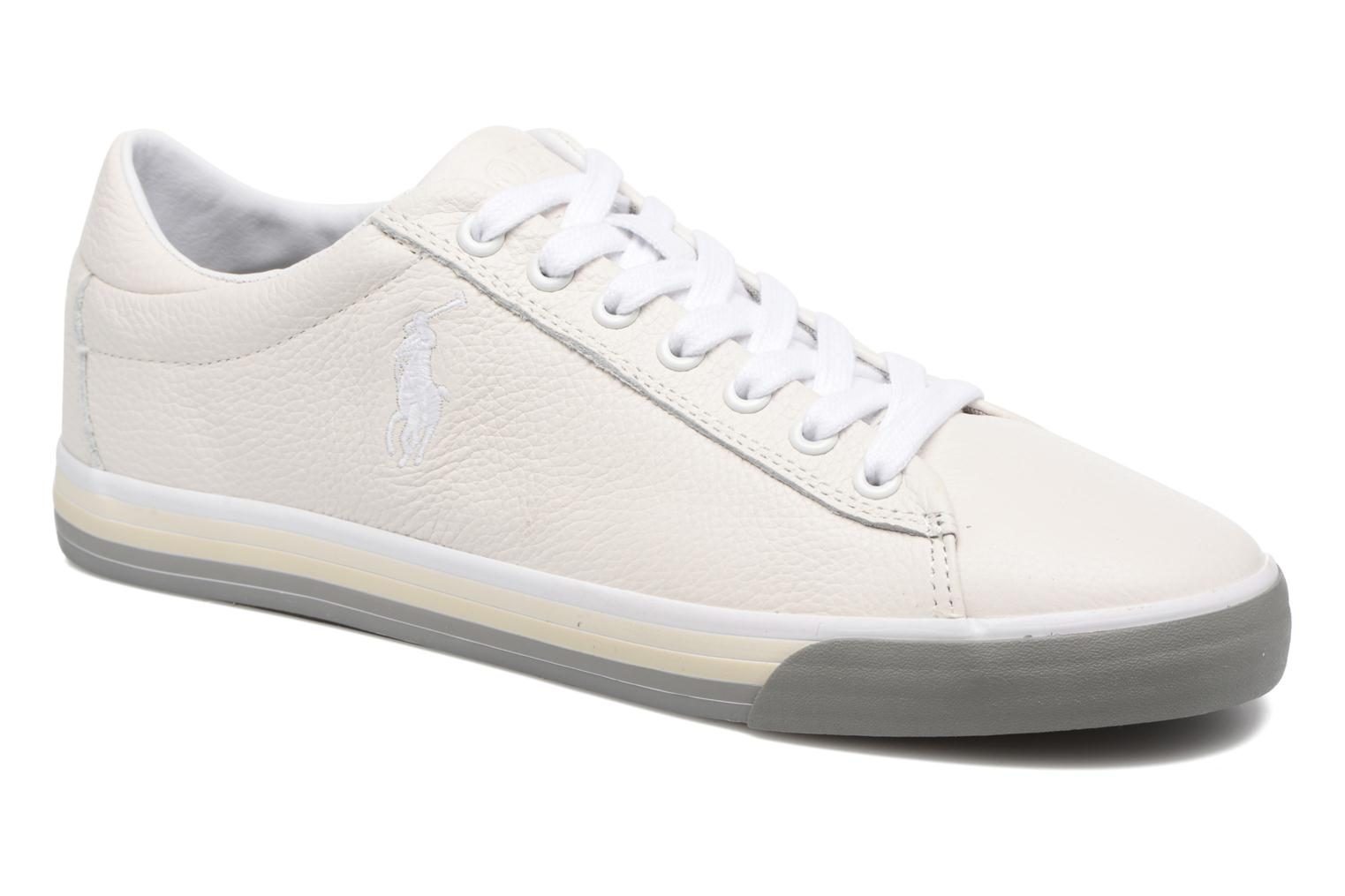 Baskets Polo Ralph Lauren Harvey Blanc vue détail/paire