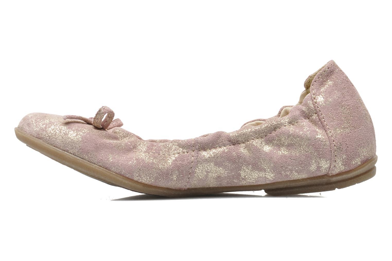 Ballerinas Ramdam by GBB LISBONNE rosa ansicht von vorne