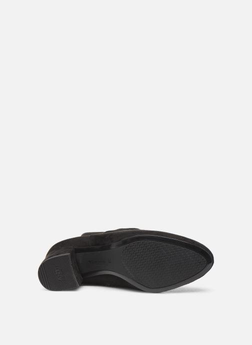 Botas Tamaris Tania Negro vista de arriba