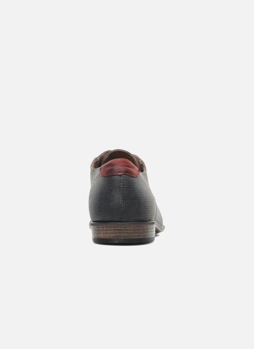 Chaussures à lacets I Love Shoes Suréponds Gris vue droite