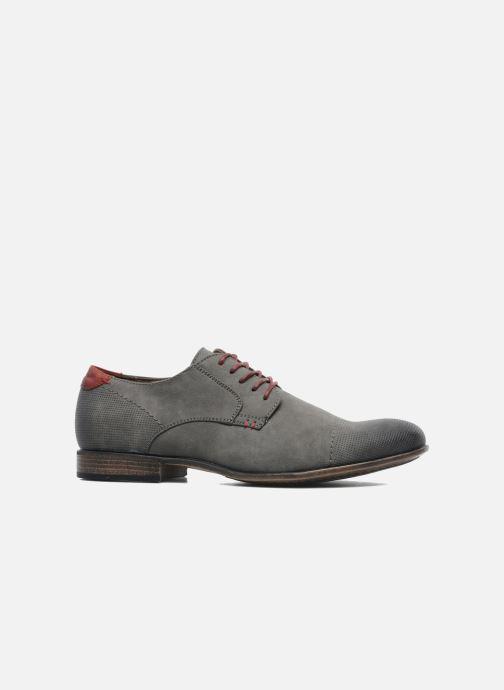 Lace-up shoes I Love Shoes Suréponds Grey back view