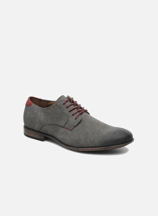 Chaussures à lacets I Love Shoes Suréponds Gris vue détail/paire