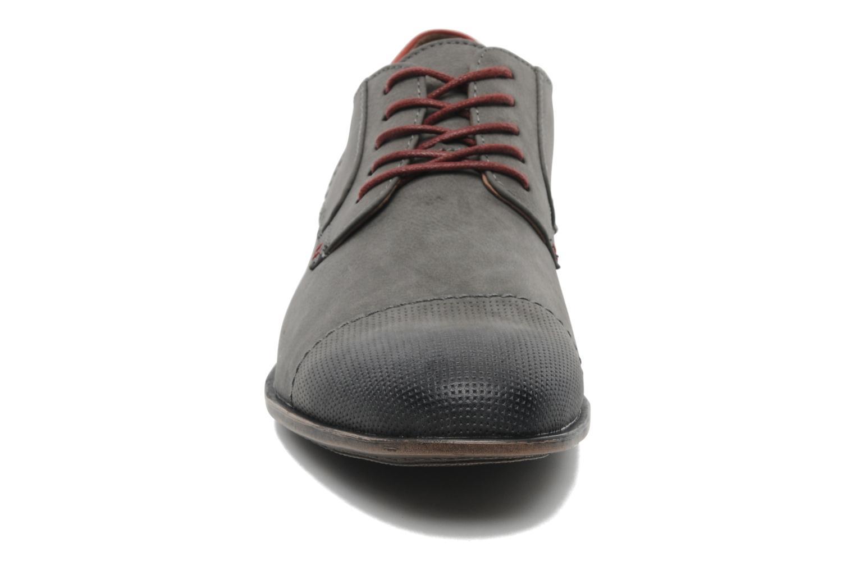 Lace-up shoes I Love Shoes Suréponds Grey model view