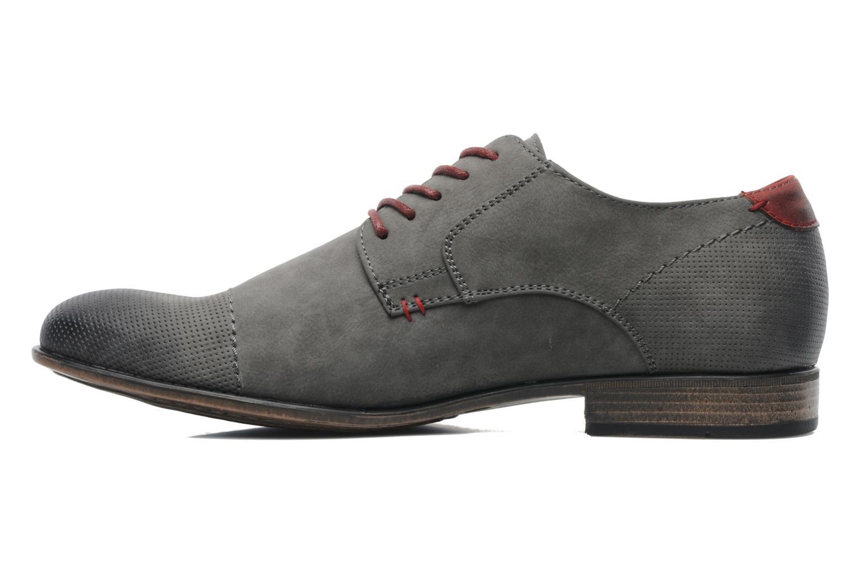 Lace-up shoes I Love Shoes Suréponds Grey front view