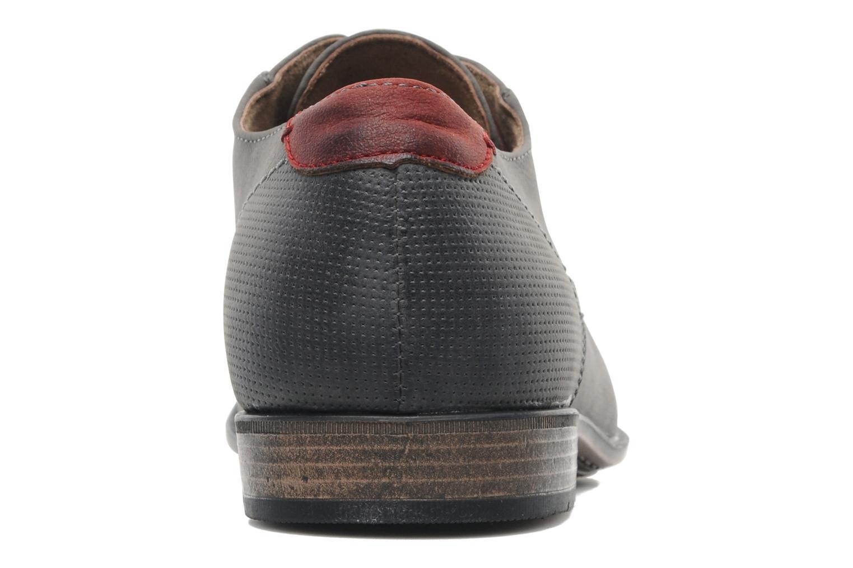 Snörade skor I Love Shoes Suréponds Grå Bild från höger sidan