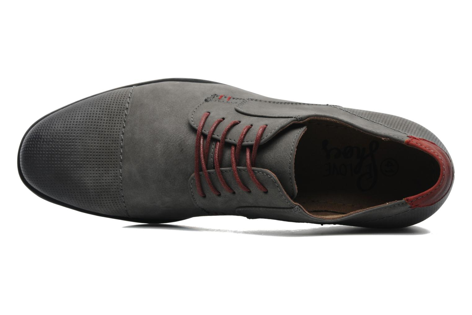 Lace-up shoes I Love Shoes Suréponds Grey view from the left
