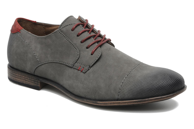 Lace-up shoes I Love Shoes Suréponds Grey detailed view/ Pair view