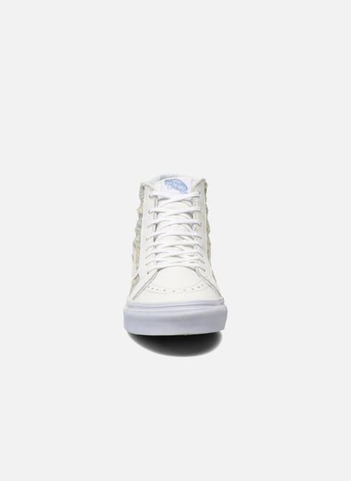 f84c516f03 Vans Sk8-Hi Slim W (weiß) - Sneaker chez Sarenza (249056)