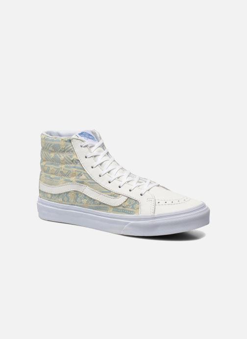 Baskets Vans Sk8 Hi Slim W Blossom True Blanc Femme En Soldes