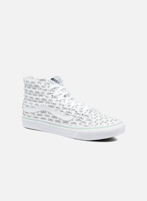 75b7727d5d Sneaker Vans Sk8-Hi Slim W weiß detaillierte ansicht modell