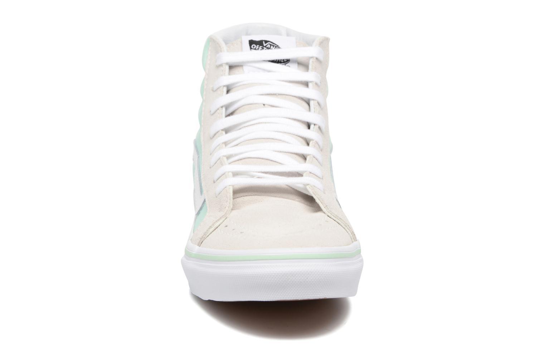 Baskets Vans Sk8-Hi Slim W Bleu vue portées chaussures