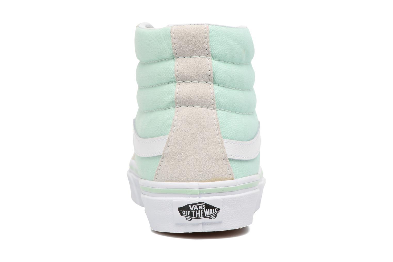 Baskets Vans Sk8-Hi Slim W Bleu vue droite