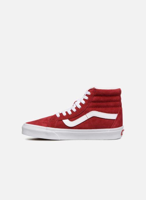 Sneakers Vans Sk8-Hi Reissue W Rood voorkant