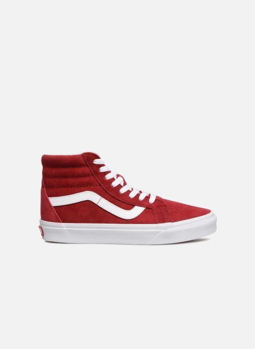 Sneakers Vans Sk8-Hi Reissue W Rood achterkant