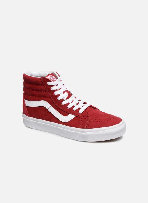 Sneakers Vans Sk8-Hi Reissue W Rood detail