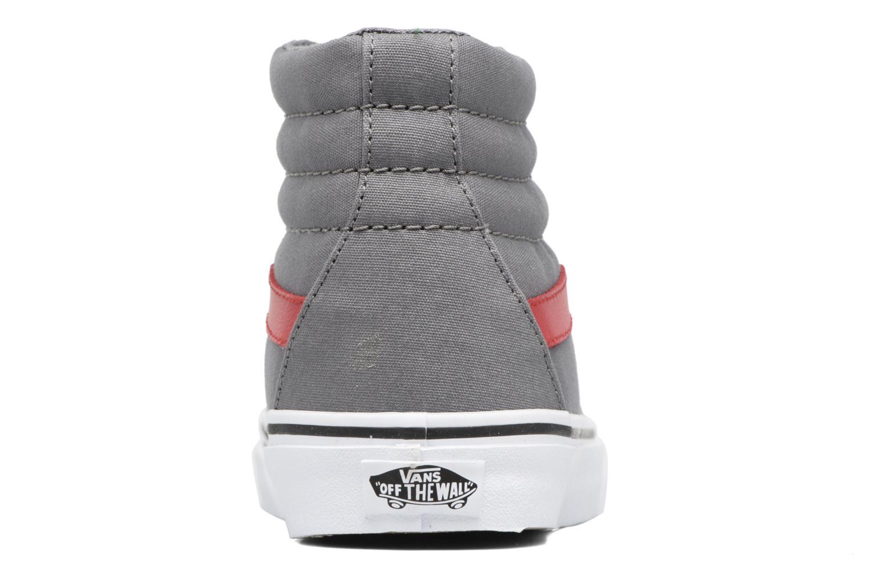 Sneakers Vans Sk8-Hi Reissue W Grijs rechts