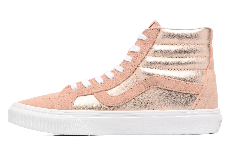 Sneaker Vans Sk8-Hi Reissue W rosa ansicht von vorne