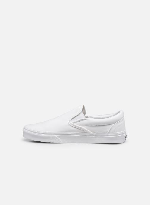 Baskets Vans Classic Slip-On W Blanc vue face