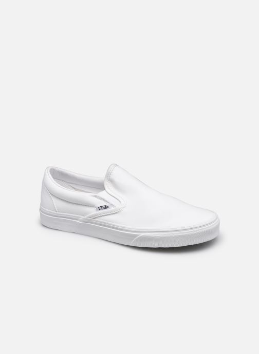 Baskets Vans Classic Slip-On W Blanc vue détail/paire