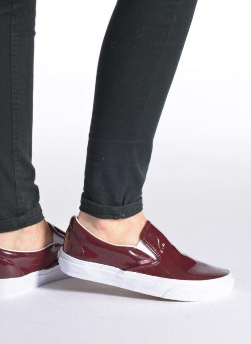 Sneakers Vans Classic Slip-On W Nero immagine dal basso