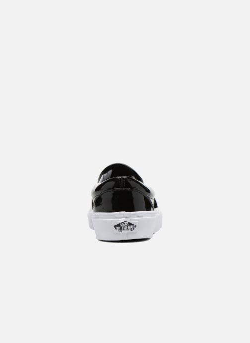 Sneakers Vans Classic Slip-On W Nero immagine destra