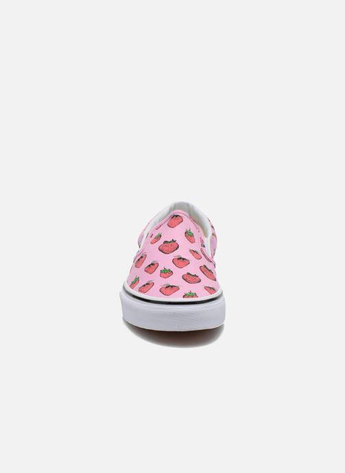 Baskets Vans Classic Slip-On W Multicolore vue portées chaussures