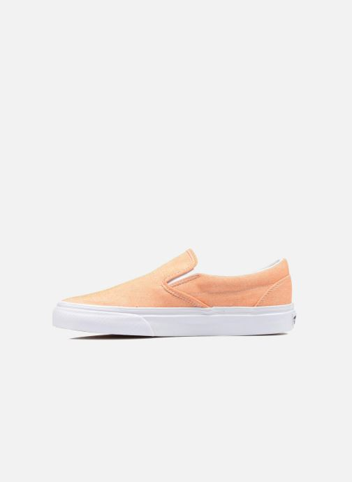 Baskets Vans Classic Slip-On W Orange vue face