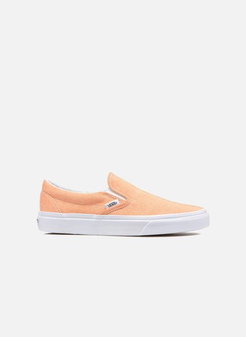 Baskets Vans Classic Slip-On W Orange vue derrière