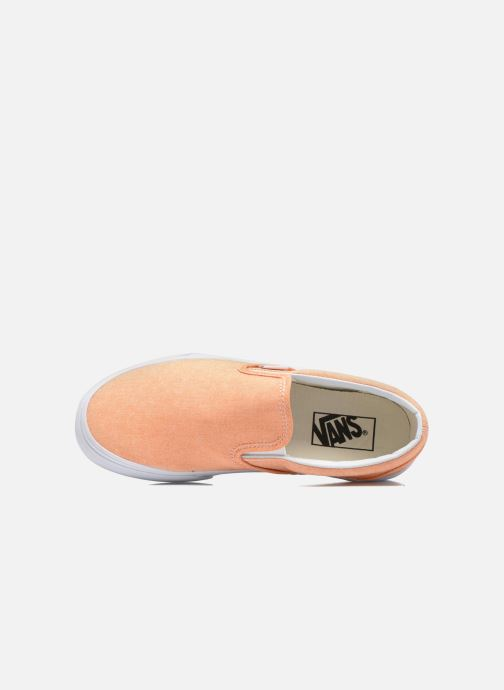 Baskets Vans Classic Slip-On W Orange vue gauche