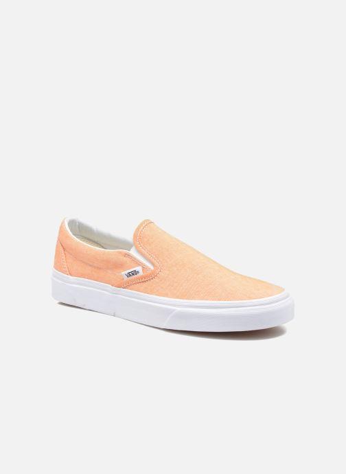 Vans Classic Slip On W (Orange) Baskets chez Sarenza (249059)