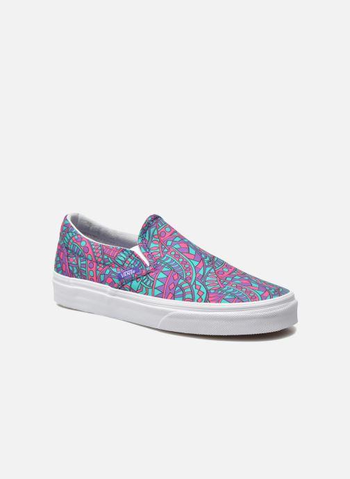 a14bef964d2 Vans Classic Slip-On W (Multicolor) - Sneakers chez Sarenza (249069)