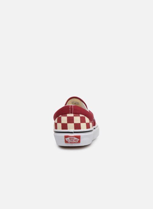 Baskets Vans Classic Slip-On W Rouge vue droite